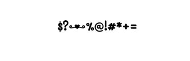 MONOGRAMCARNAVAL.TTF Font OTHER CHARS