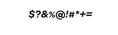 Molde Nova Bold Italic.otf Font OTHER CHARS