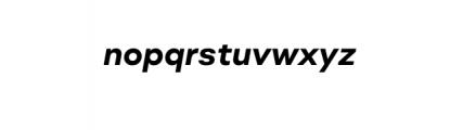 Molde Nova Bold Italic.otf Font LOWERCASE