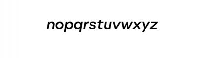 Molde Nova Medium Italic.otf Font LOWERCASE