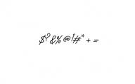 Monalisa Script Font OTHER CHARS