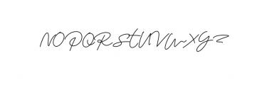 Monalisa Script Font UPPERCASE