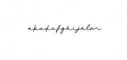 Monalisa Script Font LOWERCASE