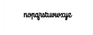 Mondella Font Font LOWERCASE