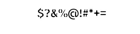 Mongolax.ttf Font OTHER CHARS