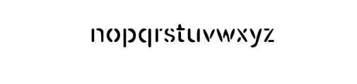 Mongolax.ttf Font LOWERCASE