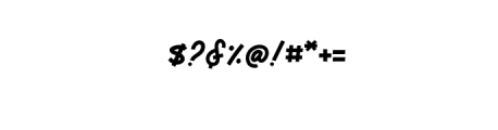 MonsertaScript-Regular.ttf Font OTHER CHARS
