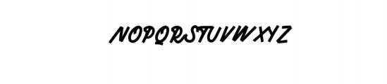 MonsertaScript-Regular.ttf Font UPPERCASE