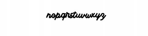 MonsertaScript-Regular.ttf Font LOWERCASE
