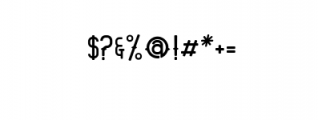 Motopica - Modern Vintage Font Font OTHER CHARS