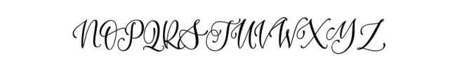 MountizaFont.ttf Font UPPERCASE