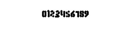 morgan.ttf  Font OTHER CHARS