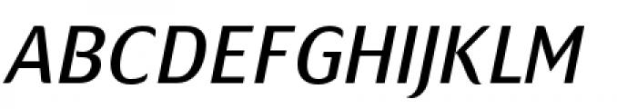 Mondial Plus Normal Italic Caps Font UPPERCASE