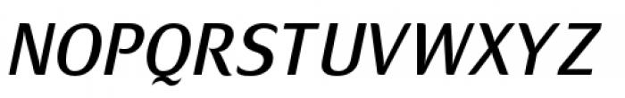 Mondial Plus Normal Italic Font UPPERCASE