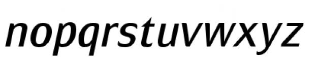Mondial Plus Normal Italic Font LOWERCASE