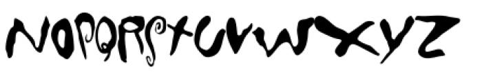 Mondo Loose Font UPPERCASE