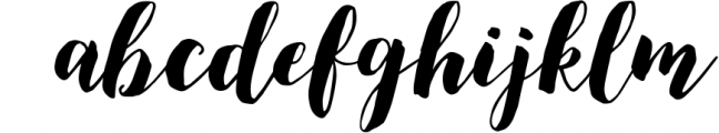Modern brush calligraphy font, December Sparks Font LOWERCASE