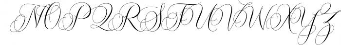 Molandika Script - Elegant Font Font UPPERCASE