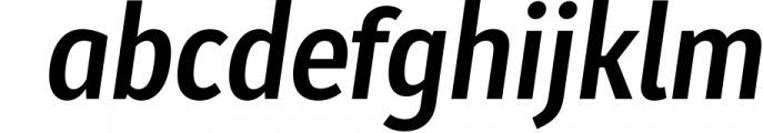 Molecula 1 Font LOWERCASE