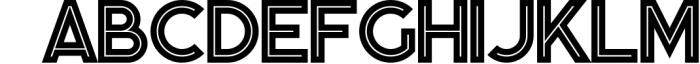 Momoco - Display Font Font UPPERCASE
