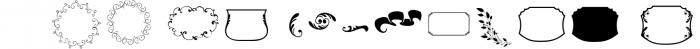 Mon Cheri Typeface + Extras 1 Font UPPERCASE