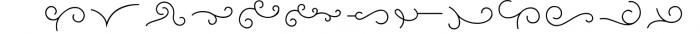 Mon Cheri Typeface + Extras 1 Font LOWERCASE