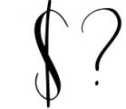 Mondellina Script Font OTHER CHARS