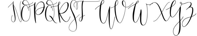 Mondellina Script Font UPPERCASE