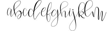 Mondellina Script Font LOWERCASE