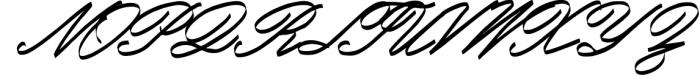 Monland Script | Classic Handwritten Font UPPERCASE