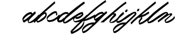 Monland Script | Classic Handwritten Font LOWERCASE