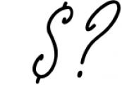 Monoline Signature script - de Novembre Font OTHER CHARS