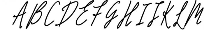 Monoline Signature script - de Novembre Font UPPERCASE