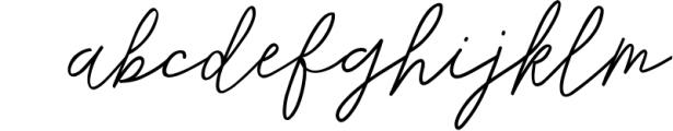 Monoline Signature script - de Novembre Font LOWERCASE