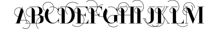 Monophone - Fancy Font 1 Font UPPERCASE