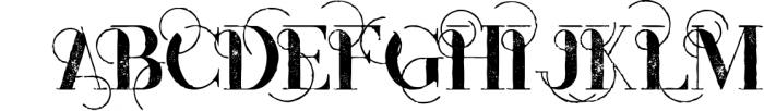 Monophone - Fancy Font 2 Font UPPERCASE