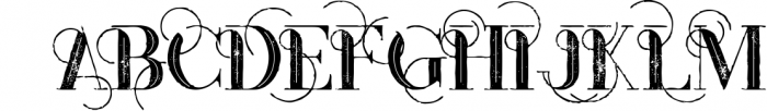 Monophone - Fancy Font 3 Font UPPERCASE