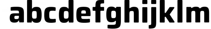 Montara - Sans serif duo Clean+Textured version Font LOWERCASE