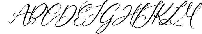 Montreal Script Font Font UPPERCASE