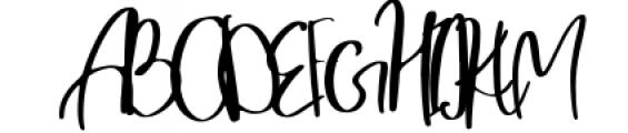 Morena Font UPPERCASE