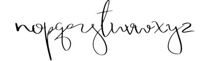 Morena Font LOWERCASE