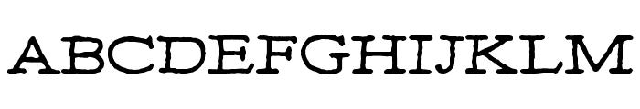 MOA 1 Font UPPERCASE