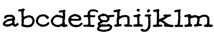 MOA 1 Font LOWERCASE
