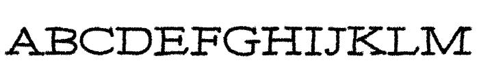 MOA 3 Font UPPERCASE