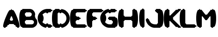 MODERN CRAFT Font UPPERCASE