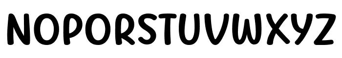 MOG rhythm Font LOWERCASE