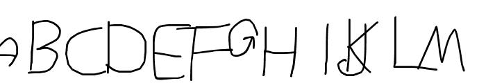 MOKADESIGNER FONT 1 Font UPPERCASE