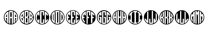MONOGRAMOS Font UPPERCASE