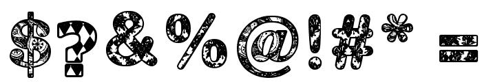 MONOVIRUS Font OTHER CHARS