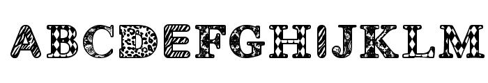 MONOVIRUS Font UPPERCASE